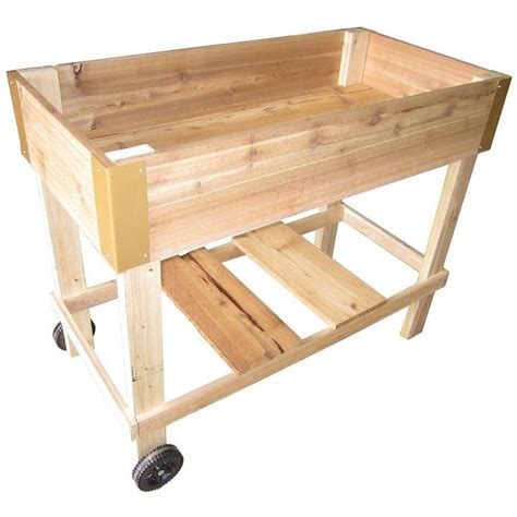 Elevated Cedar Planter Box by 33 Best Images About Raised Garden On Gardens