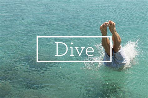 how to dive how to dive into your walk with god