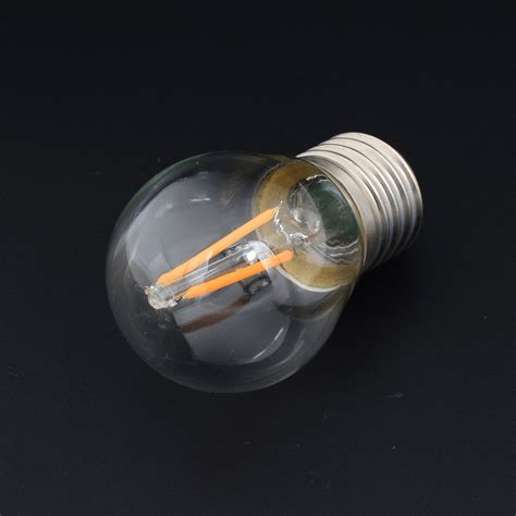 filament light bulb chandelier classic edison filament cob led bulb glass chandelier