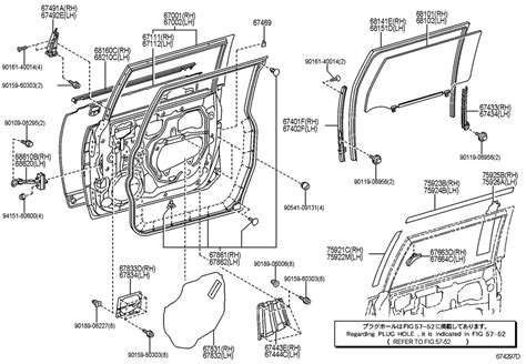 Toyota Fj Cruiser Parts Toyota Fj Cruiser Front Door Panel Glass