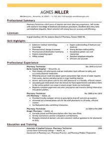 pharmacy technician resume example pharmacy technician resume example medical sample resumes certified pharmacy technician resume samples pinterest