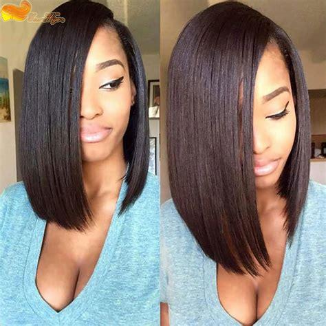 pics of women with 1 inch hair short bob wigs for black women brazilian virgin human hair