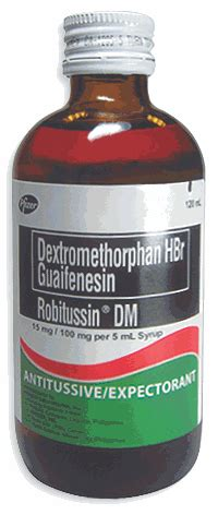 Decolgen Syr 60 Ml by Robitussin Dm Dosage Information Mims Philippines