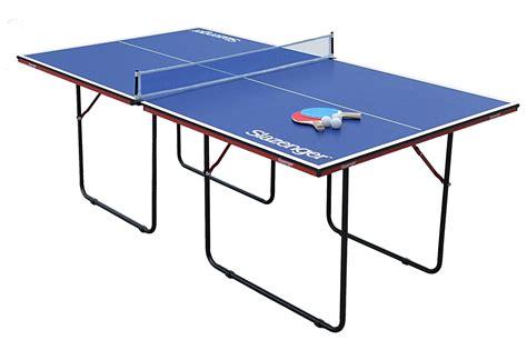 Slazenger Junior 3 4 Size Indoor Table Tennis Table 163 89