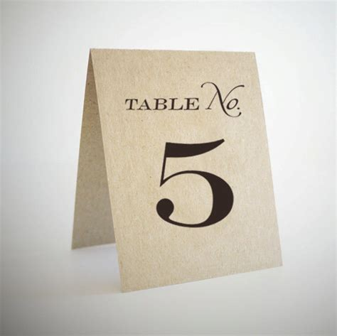 printable number table cards unavailable listing on etsy