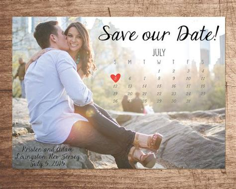Cheap Calendar Save The Dates 25 Best Ideas About Wedding Save The Dates On