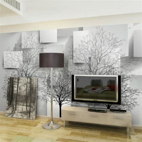 Tree Design Wallpaper Living Room by Compare Prices On Wall Mural Shopping Buy Low