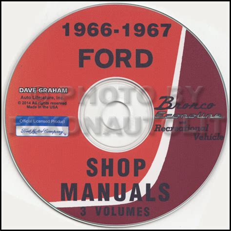 service and repair manuals 1967 ford country on board diagnostic system 1966 1967 ford bronco and econoline cd repair shop manual van club wagon rv