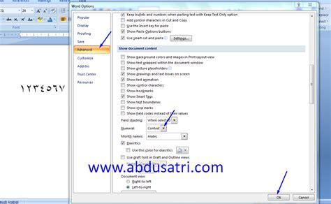 cara membuat angka halaman di word 2007 cara menulis huruf dan angka arab di microsoft word
