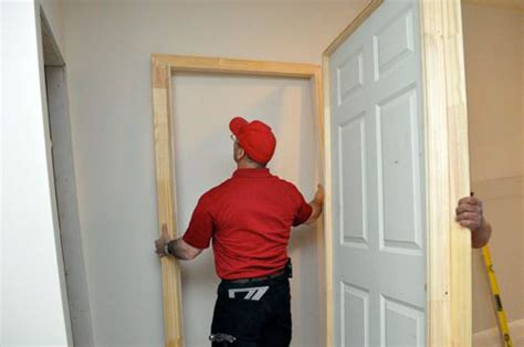 how to install bedroom door how to install pre hung doors one project closer