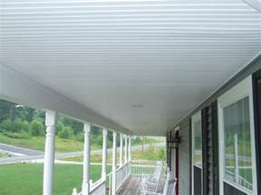 Outdoor Beadboard Ceiling Panels by Vinyl Beadboard Soffit For Porch Ceilings Images