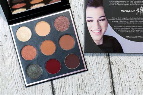 Manny Mua Eyeshadow Make Up Palette Eye Shadow Manny Mua Mesh makeup manny mua eyeshadow palette eye shadow