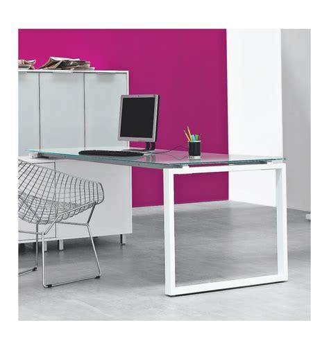 scrivania piano vetro scrivania con piano in vetro ad quot l quot con allungo sx dx