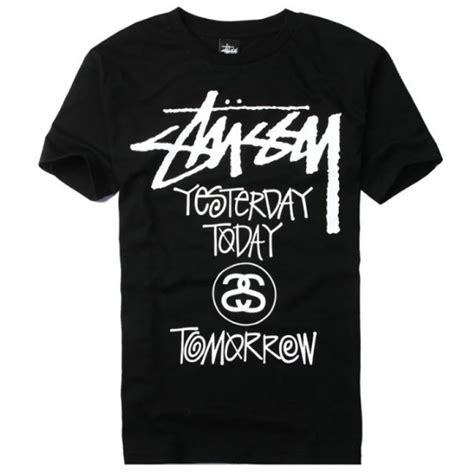 Tshirt Stussy 6 new stussy quot yesterday today tomorrow quot t shirt collection buy stussy