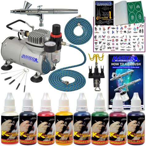 airbrush tattoo kit part abd kit sp13 20