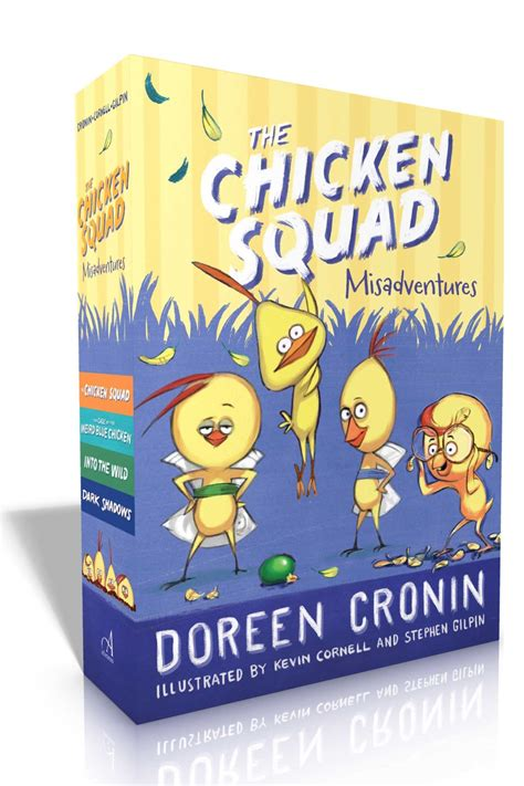 gimme shelter misadventures and misinformation the chicken squad books doreen cronin official publisher page simon schuster