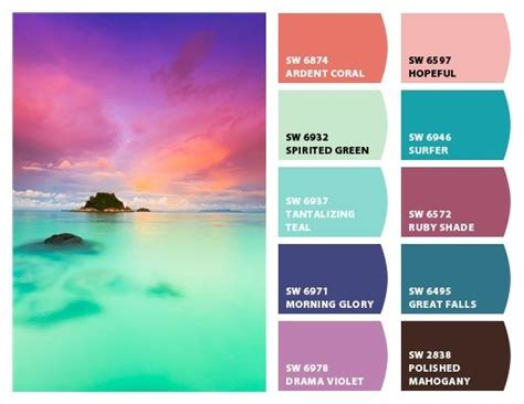 tropical colors 17 best images about tropical colors on
