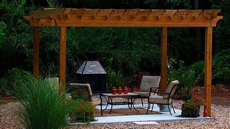 Picture Of Free Standing Pergola Easy Pergola Ideas