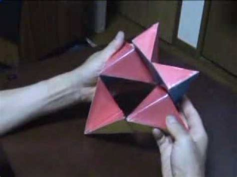 How To Make A Transforming Out Of Paper - origami transformer