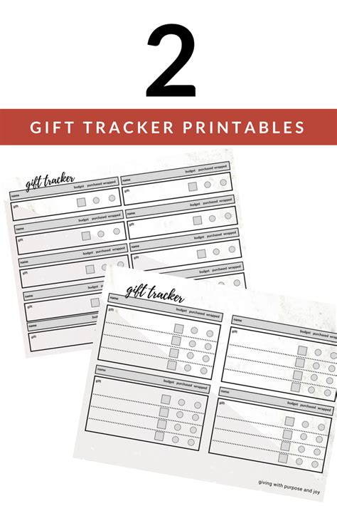 buying gifts tracker sheet gift list organized free gift tracker sheet