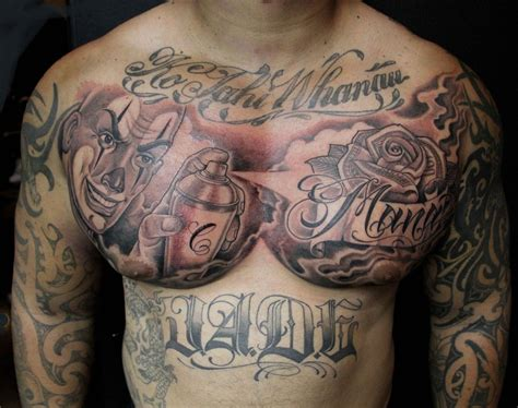 chest piece tattoos pin by mister on tattoos tribal