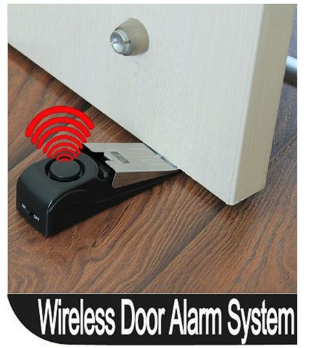 1pcs 120 db stop system security home wedge shaped door