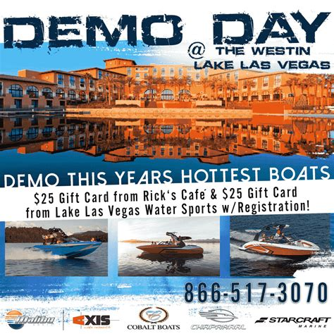 boulder boats vegas new boat demo day westin lake las vegas boulder boats