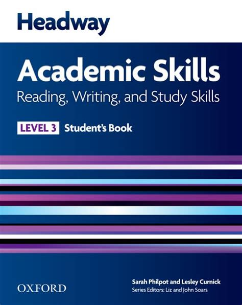 headway academic skills new edition student book level 3 by sarah philpot lesley curnick