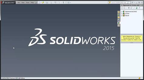 Tutorial Of Solidworks 2015   solidworks 2015 tutorial 001