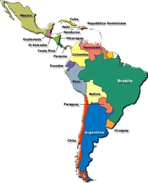 mapa politico de america con todos los paises 191 cu 225 les los pa 237 ses de am 233 rica 187 respuestas tips