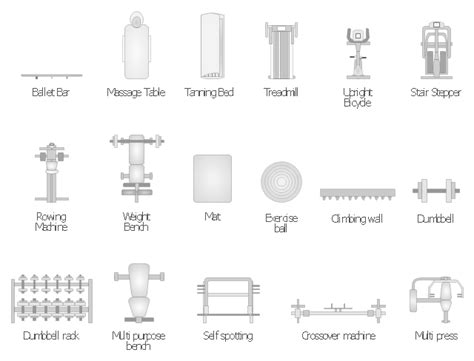 physical layout of salon gym equipment layout floor plan gym layout fitness