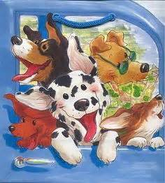 Suzy Puppy Bag postcards suzys zoo note from the suzy s zoo