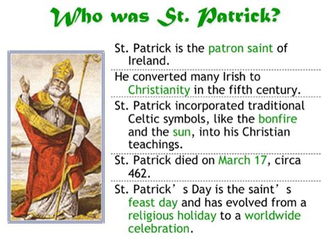 s day history and traditions st s day history and traditions for