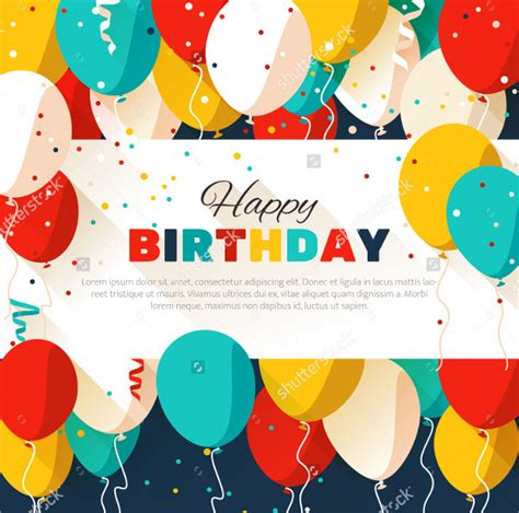 Birthday Poster Template 27 birthday poster templates free premium