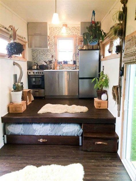 Tiny House Bed Ideas by Maximize Your Space With These 19 Tiny House Hacks