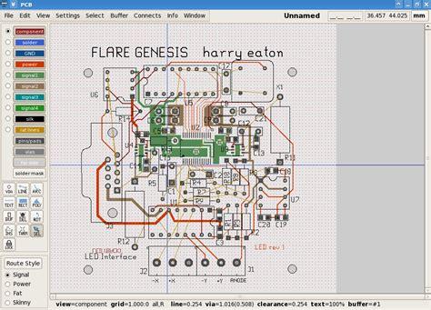 Layout Editor Gerber | pcb an interactive printed circuit board editor