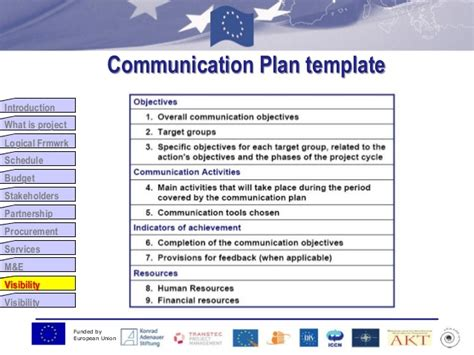 8 Visibility Communication And Visibility Plan Template
