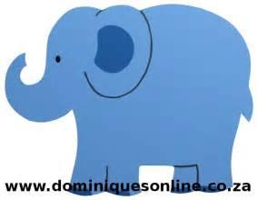 safari elephant cut out small dominique s online