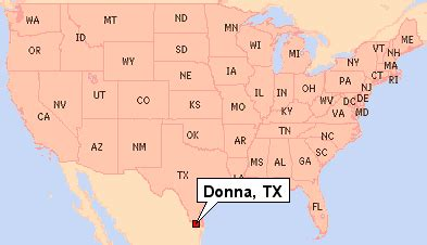 where is donna on the map donna tx pictures posters news and on your