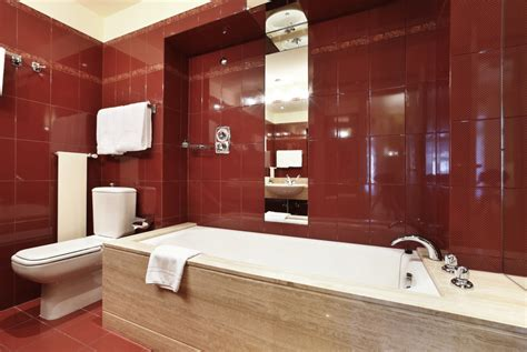 red wall bathroom 59 modern luxury bathroom designs pictures