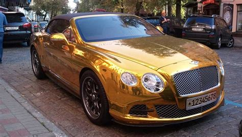 white gold bentley with gold bentley learns lesson after 163 80 parking ticket
