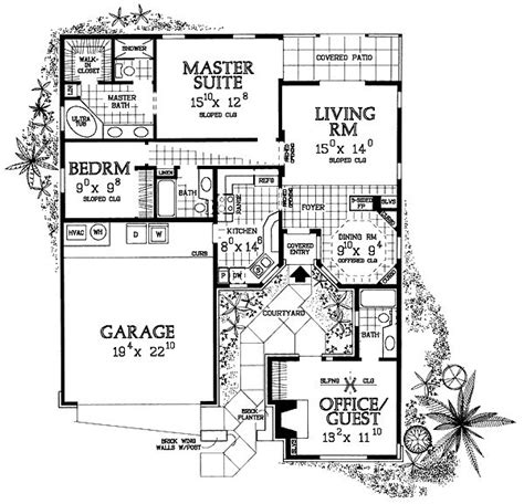 small house plans with courtyards 17 best ideas about small houses on small