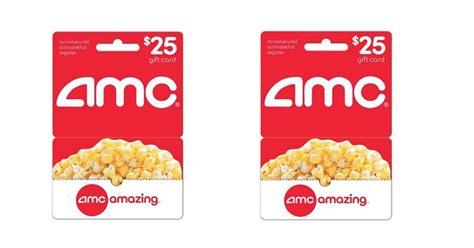 Amc Gift Card For Cash - super hot find 25 off amc movie gift cards
