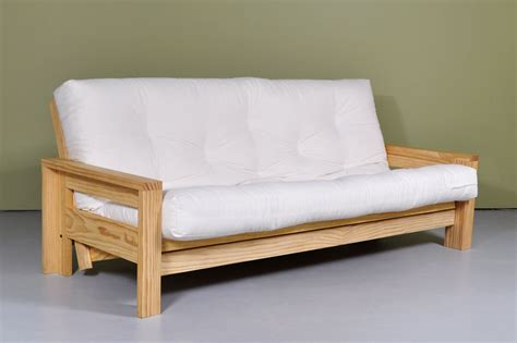 White Wooden Futon by Futon Bed Sofa Roselawnlutheran