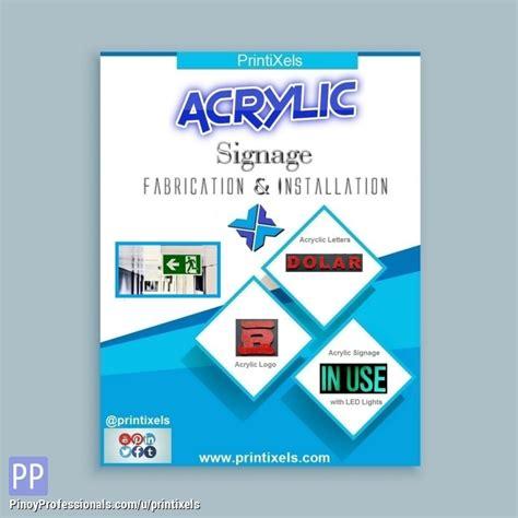 Construction Wall Sticker Jm8269 signage maker in cavite acrylic panaflex built up backlit tarpaulin
