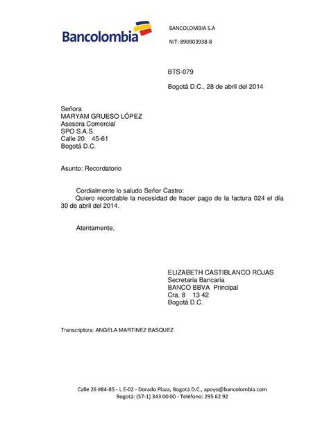solicitar certificacion bancaria en bancolombia calam 233 o ciclo de cobranza