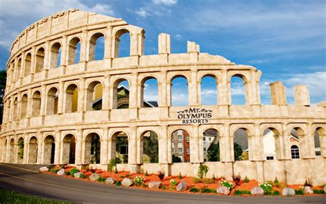 theme hotel rome mt olympus hotel rome review wisconsin dells wi