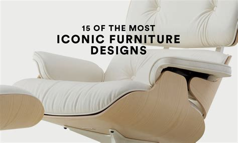 iconic chairs of 20th century iconic furniture designs 15 of the very best highsnobiety