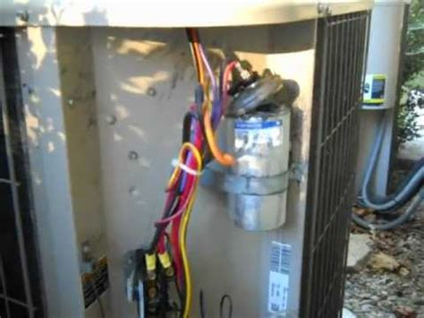 exploded dual capacitor    ton condensing unit