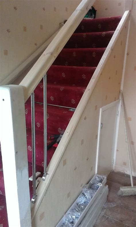 Install Banister by Stairs
